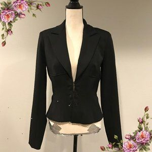 Cache hook closure sexy fitted blazer/jacket